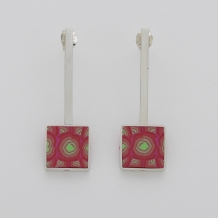 Sterling Silver Lollipop Earring