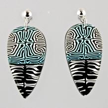 Polymer Cane Earrings